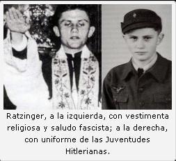 Ratzinger in uniforme da nazista.